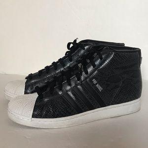 ADIDAS Superstar Pro Model Snake Embossed Sneaker